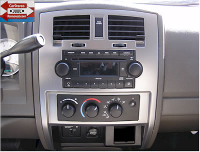 Dodge Dakota Stereo Service, How to Remove and Install Factory Car Stereo
