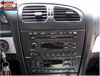 Ford Thunderbird Car Stereo Removal and Installation for Factory Equipment