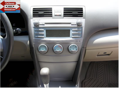 Toyota Camry Do It Yourself How to Remove Car Radio, Repair and Install